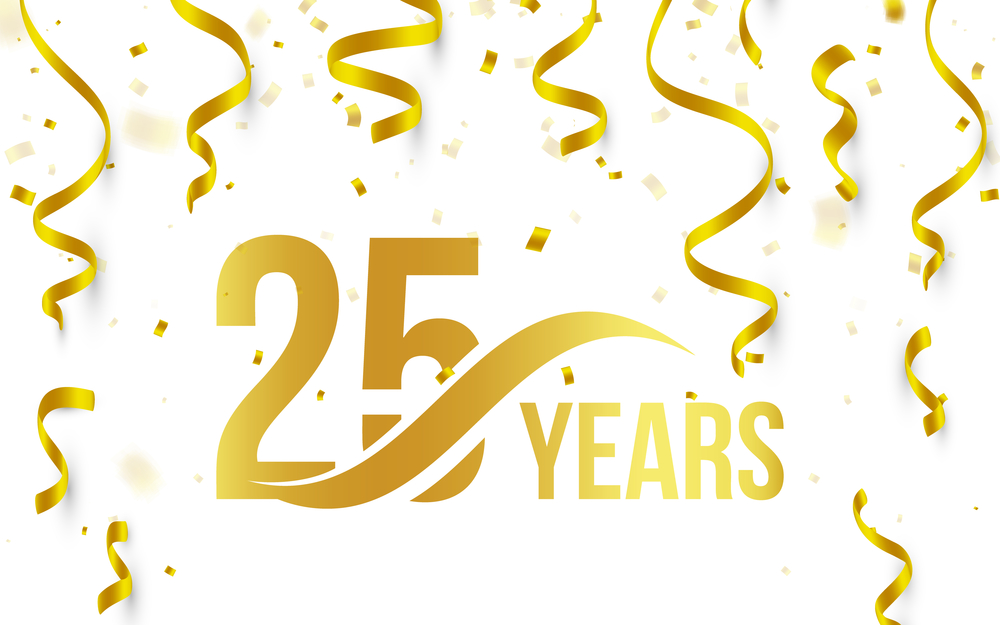 We're Celebrating 25 Years in Business!